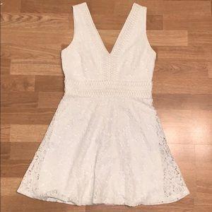 Francesca's Lace Skater Dress